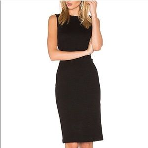 Theory Black Pencil Eano B Dress